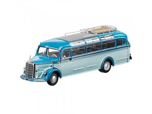 1:43 Minichamps Mercedes-Benz O 3500 (1949-1955) голубой