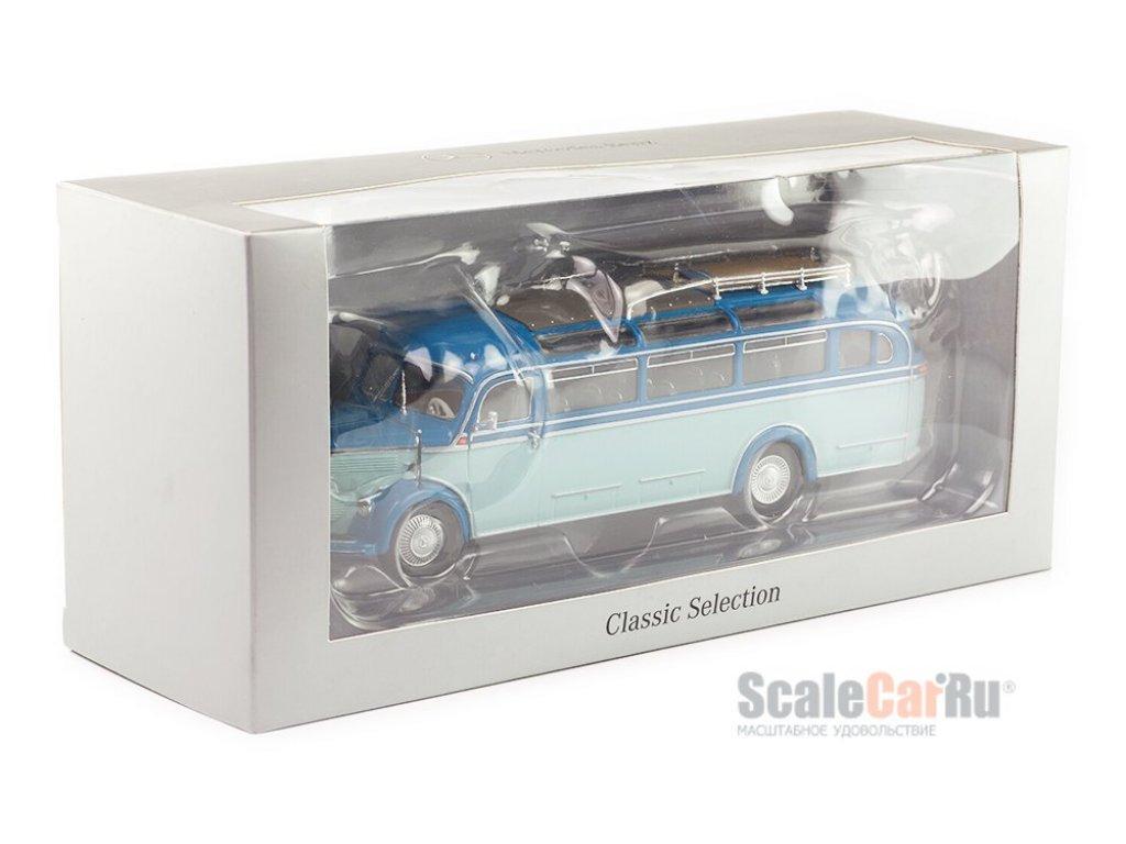 1:43 Minichamps Mercedes-Benz O 3500 (1949-1955) голубой