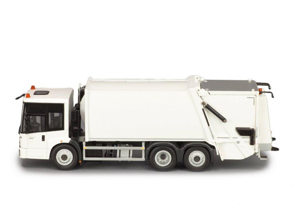 1:50 NZG Mercedes-Benz Econic Euro 6 мусоровоз белый