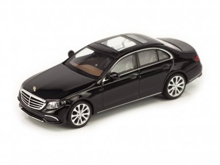 1:87 Wiking Mercedes-Benz E-class Exclusive 2016 W213 черный