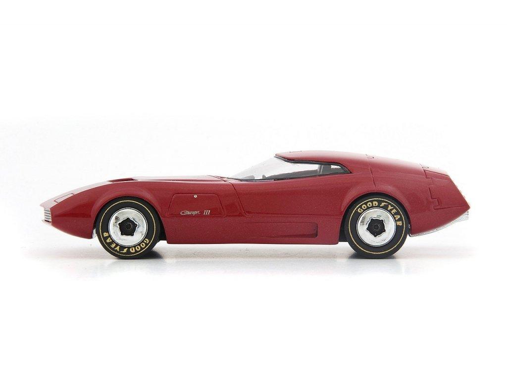 1:43 AutoCult Dodge Charger III 1968 USA красный