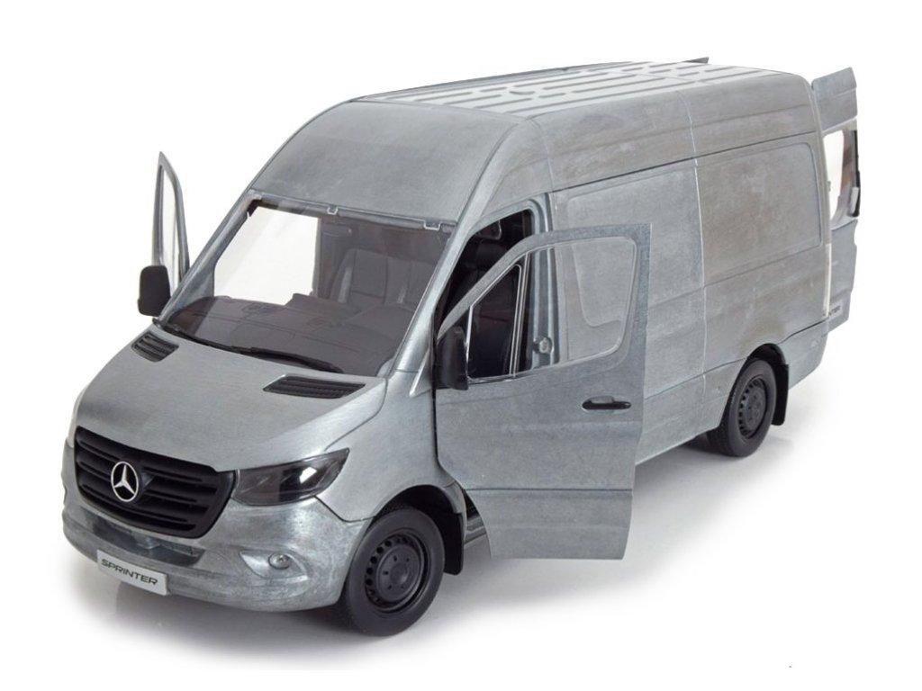 1:18 Norev Mercedes-Benz Sprinter W907 2018 фургон, не окрашенный