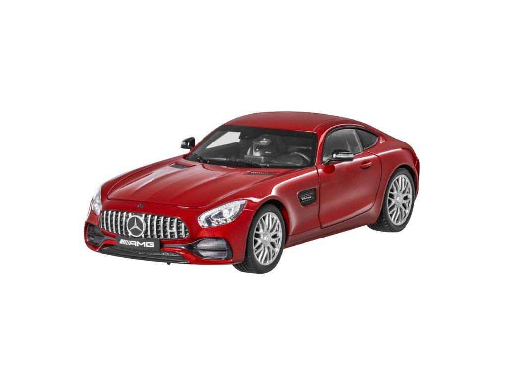 1:18 Norev Mercedes-Benz AMG GT S (C190) красный металлик