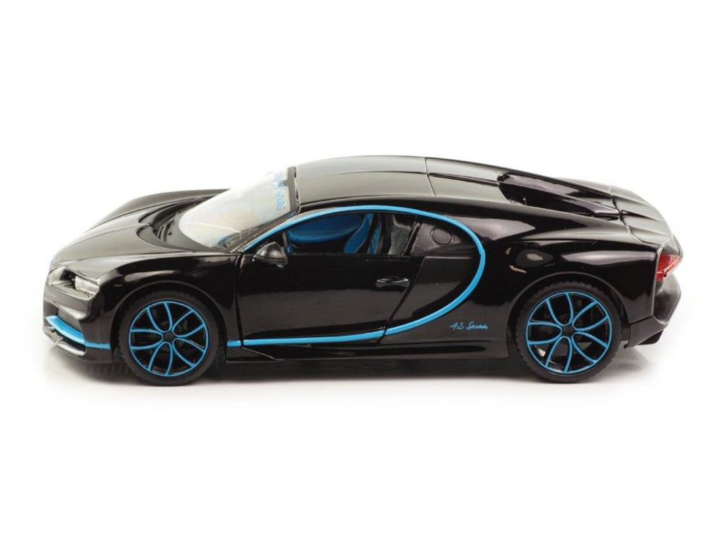 1:24 Maisto Bugatti Chiron Le Patron N 42 2017 - Z черный