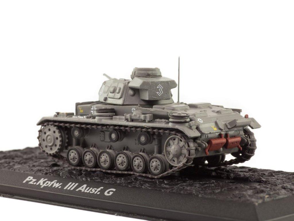 1:72 Atlas Pz.Kpfw.III Ausf.G (Sd.Kfz.141) 1941