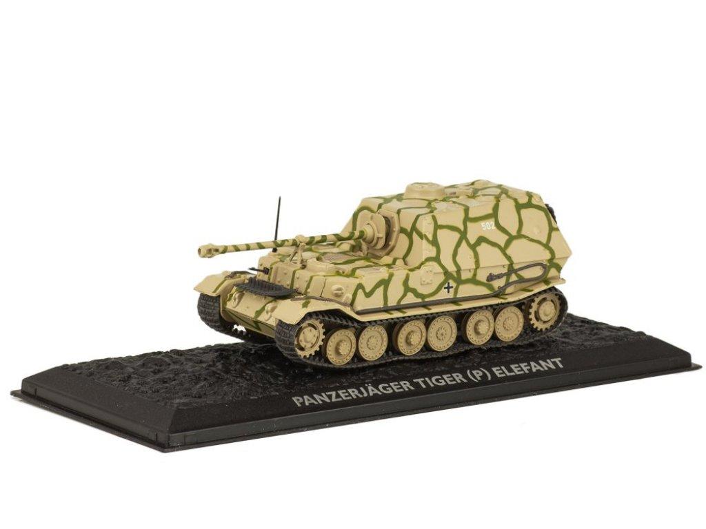 1:72 Atlas Panzerjäger Tiger (P) Elefant (Sd.Kfz.184) 1944