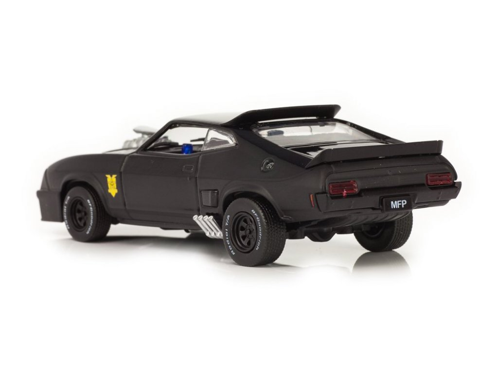 1:43 GreenLight Ford Falcon XB V8 Black Interceptor 1973 из к/ф Безумный Макс