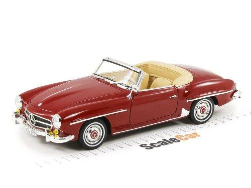 1:18 Norev Mercedes-Benz 190SL (1955 - 1963) W121 красный