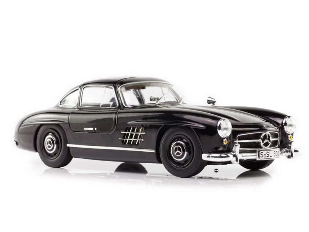 1:18 Minichamps Mercedes-Benz 300SL Gullwing (1954–1956) W198 черный