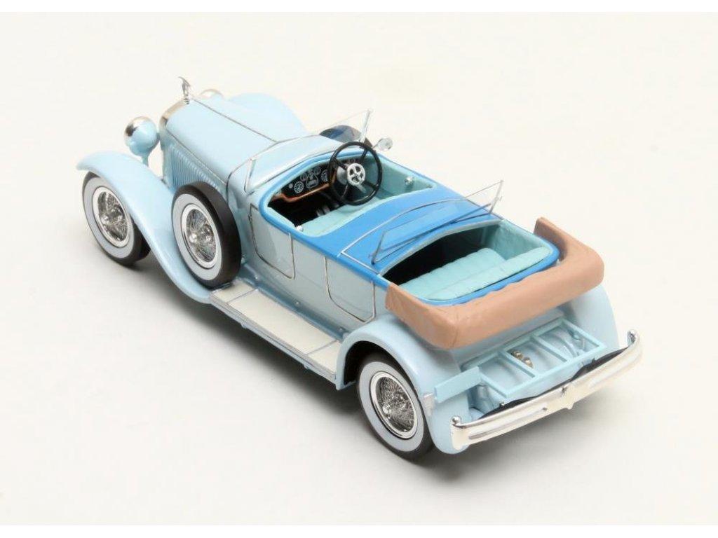 1:43 Matrix Hispano Suiza H6B Million-Guiet Dual-Cowl Phaeton 1924 синий