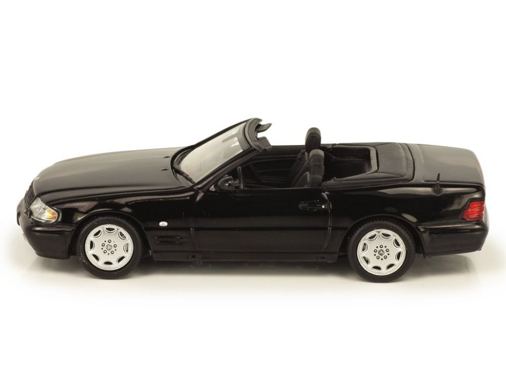 1:43 Minichamps Mercedes-Benz SL-klasse 1999 R129 (W129) черный