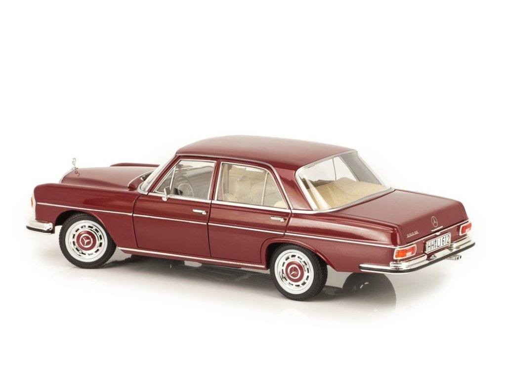1:18 Norev Mercedes-Benz 280SE W108 Sedan 1968 бордовый