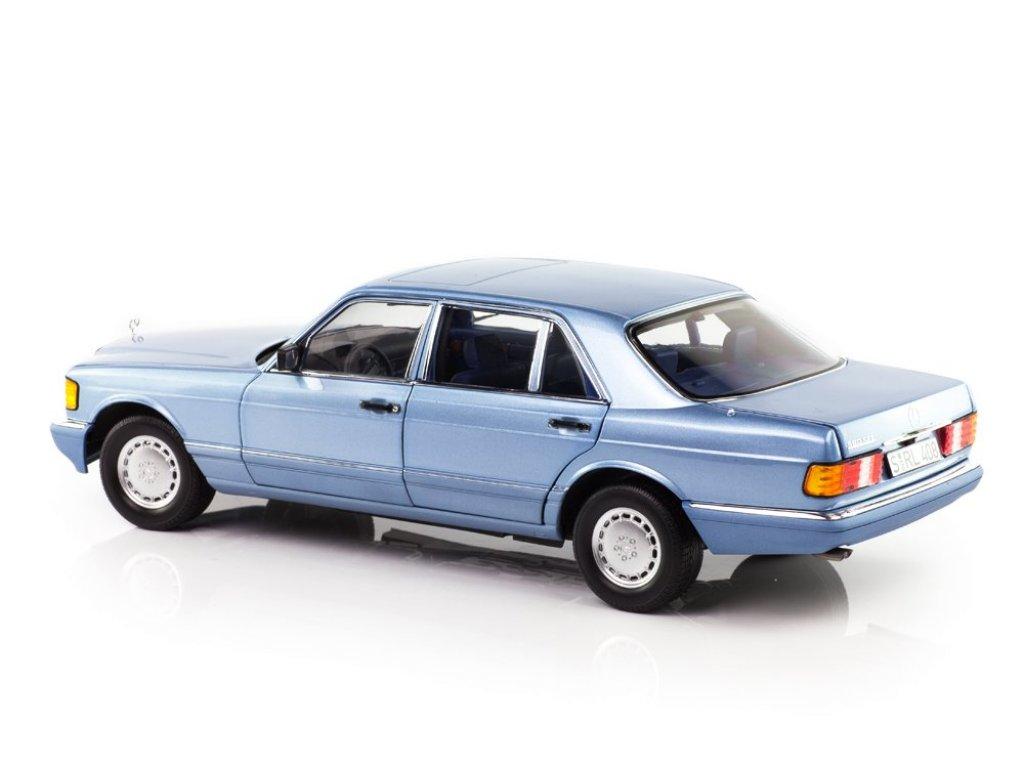 1:18 Norev Mercedes-Benz 560 SEL (W126) 1991 голубой металлик