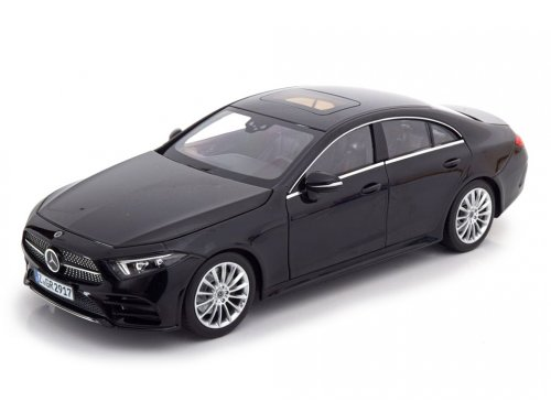 1:18 Norev Mercedes-Benz CLS coupe C257 2018 черный