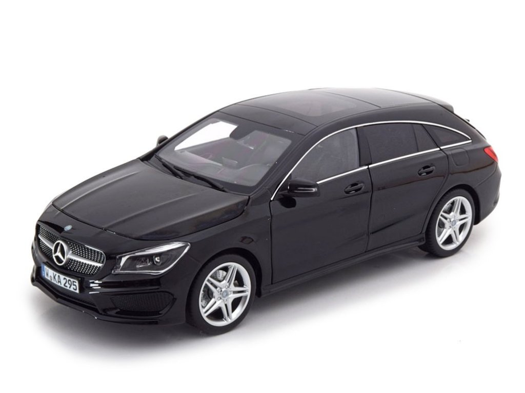 1:18 Norev Mercedes-Benz CLA Shooting Brake (X117) 2015 черный