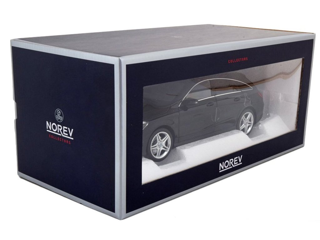 1:18 Norev Mercedes-Benz CLA Shooting Brake (X117) 2015 черный