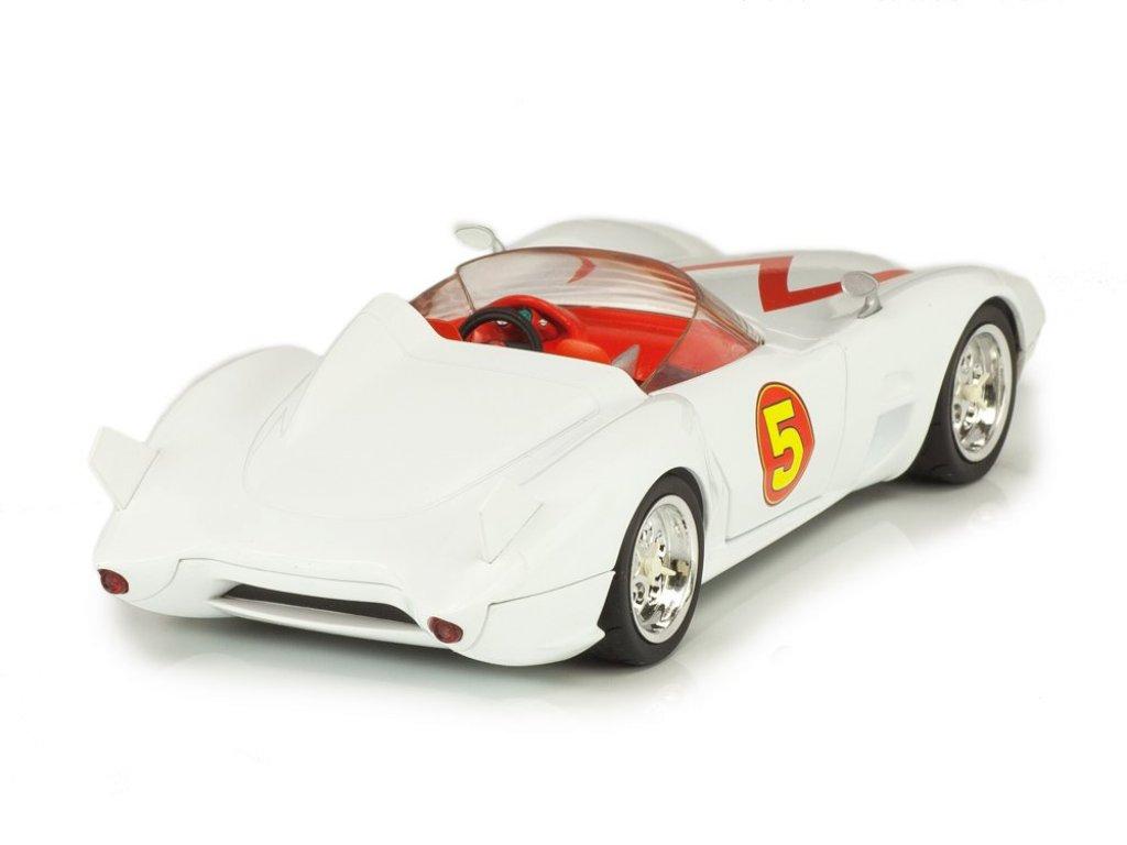 1:24 Elite Speed Racer Mach 5 белый Гонщик Спиди