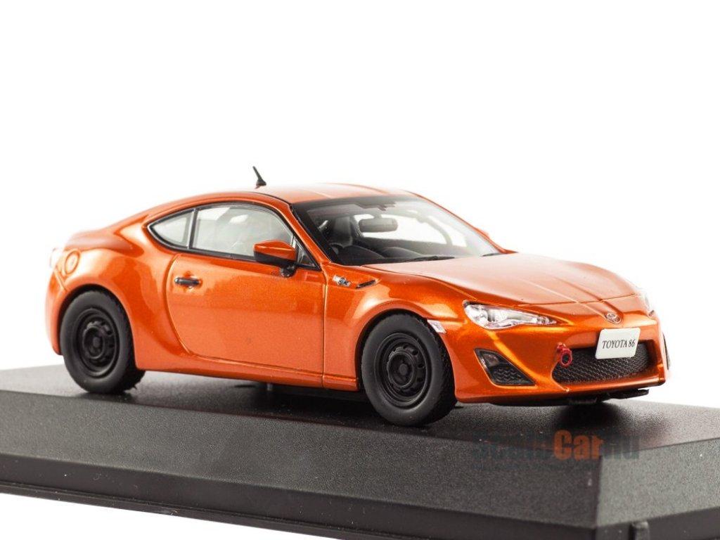 1:43 J-Collection Toyota GT86 Racing оранжевый