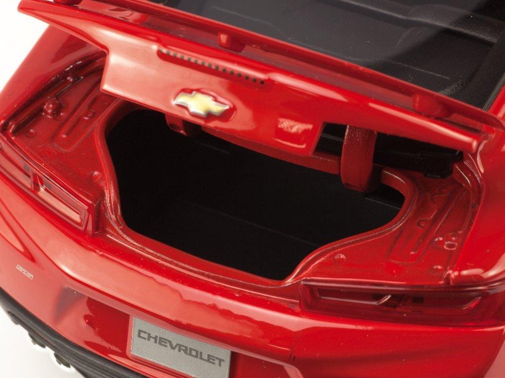 1:18 Maisto Chevrolet Camaro 2016 красный