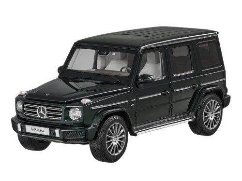 1:18 Minichamps Mercedes-Benz G-class 2018 W463 II (новый Гелендваген) изумрудно-зеленый металлик