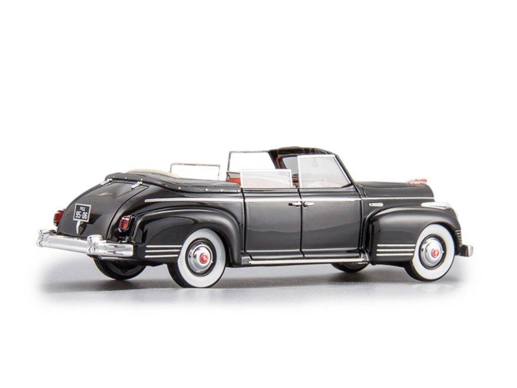1:43 DiP Models ЗИС 110Б Открытый Фаэтон. Хрущёв Н.С. - 1958 г. Черный