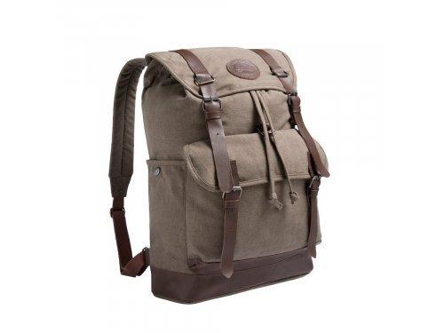 Mercedes Accessories Рюкзак коричневый из парусины и кожи