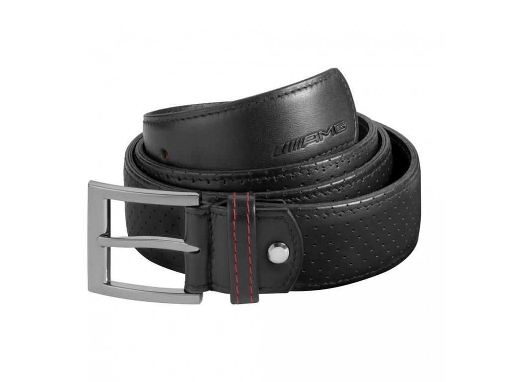 Mercedes Accessories Ремень мужской AMG черный Кожа