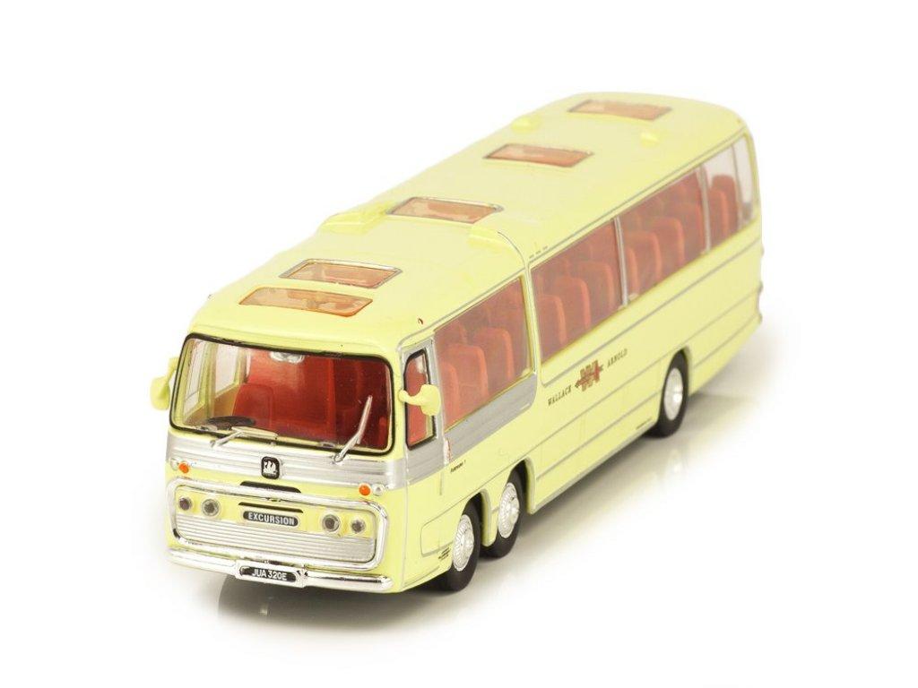 1:72 Atlas Bedford VAL Plaxton Panorama Coach 1967 желтый