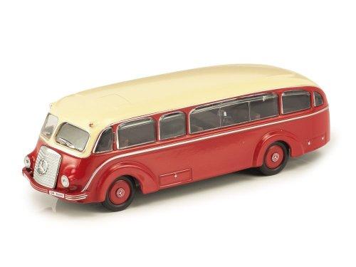 1:72 Atlas Mercedes-Benz LoP 3500 1935 красный с бежевым
