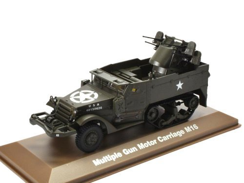 1:43 Atlas бронетранспортер M16 Gun Motor Carriage армия США 1944