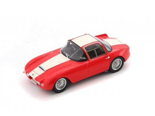 1:43 AutoCult Lotus Eleven Ghia Aigle Швейцария 1958 крансый с белым
