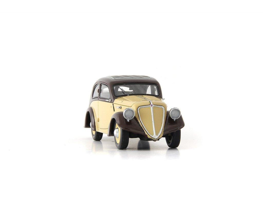 1:43 AutoCult Zbrojovka Z6 Чехия 1935, бордовый с бежевым