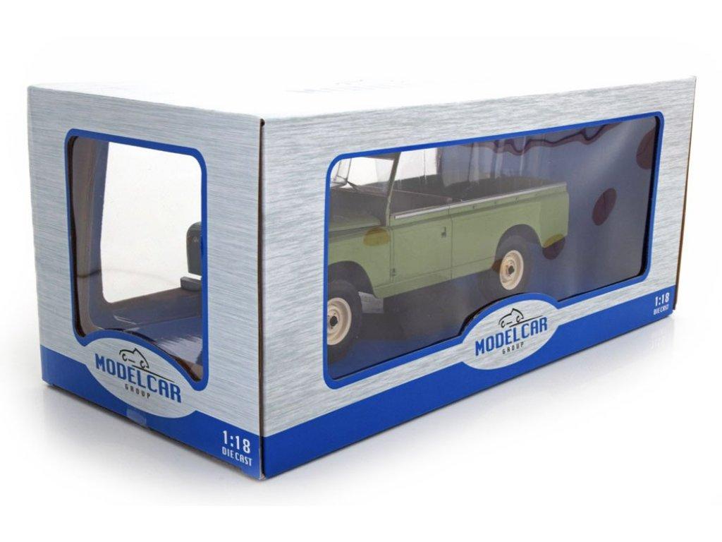 1:18 IXO Land Rover 109 Pick Up Series II 4x4 1959 оливковый