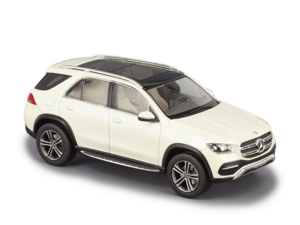 1:43 Norev Mercedes-Benz GLE-class 2018 V167 (W167) белый бриллиант