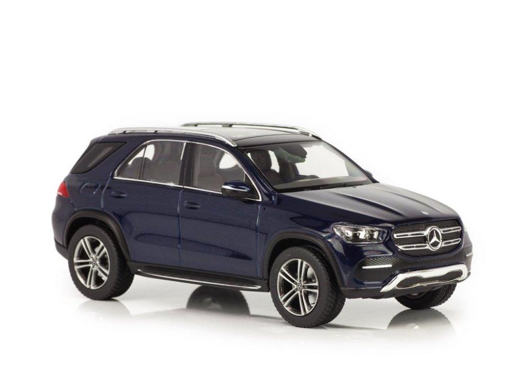 1:43 Norev Mercedes-Benz GLE-class 2018 V167 (W167) темно-синий металлик