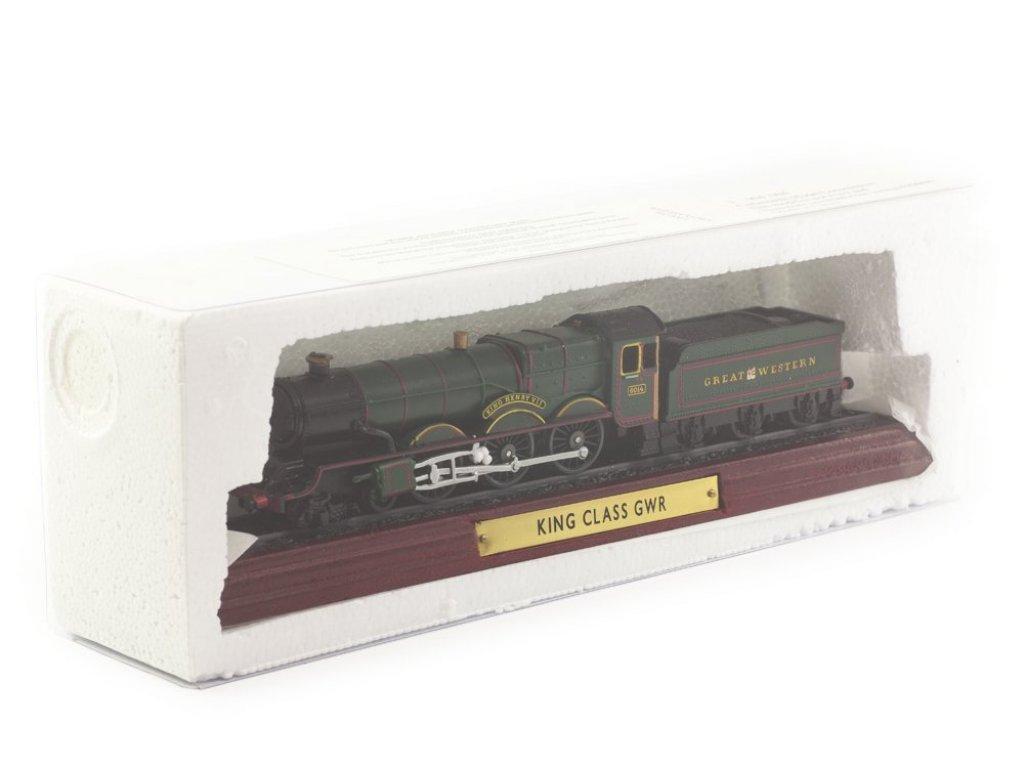 1:87 Atlas Паровоз King Class GWR 4-6-0 6014 King Henry VII