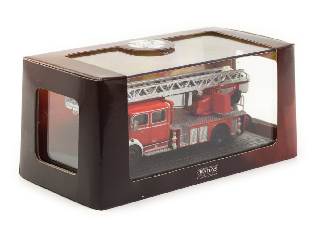 1:72 Atlas Mercedes-Benz L 1519 Fire Truck пожарная лестница
