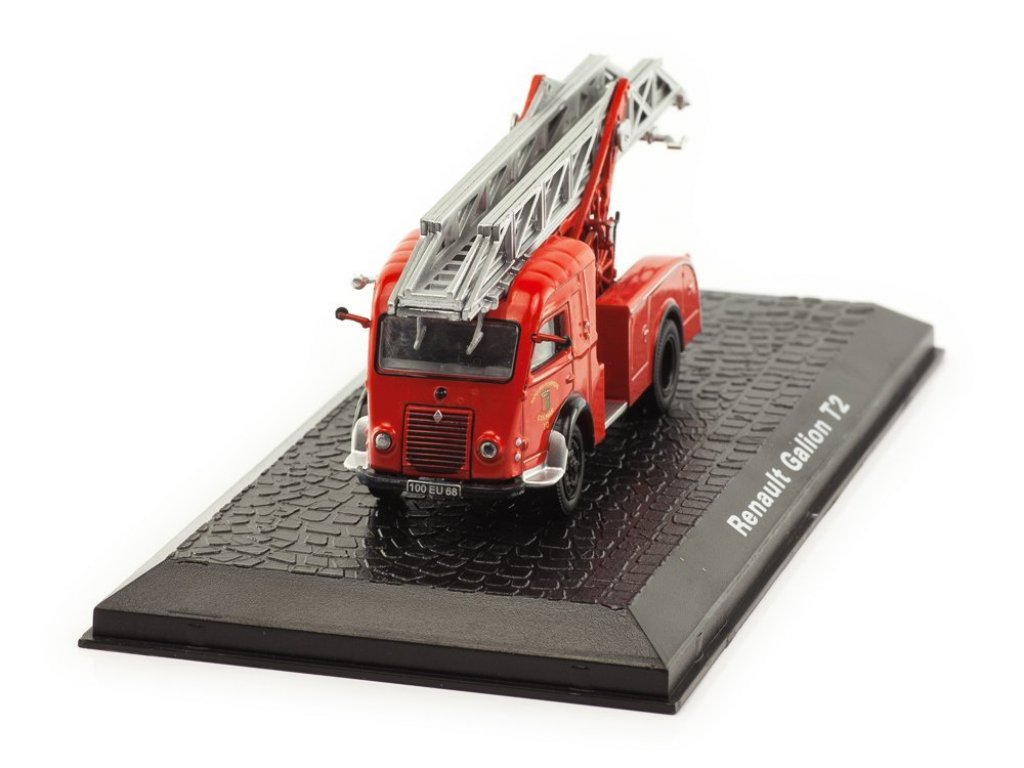 1:72 Atlas Renault DL 18 Galion T2 Fire Truck пожарная лестница