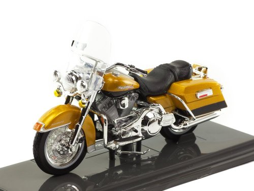 1:18 Maisto Мотоцикл Harley-Davidson FLHR Road King 1999 золотой