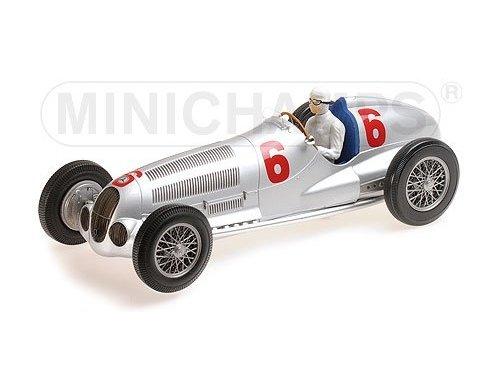 1:18 Minichamps Mercedes W125, Rudolf Caraciola - 2nd place Eifilrennen Nuerbrgring, 1937