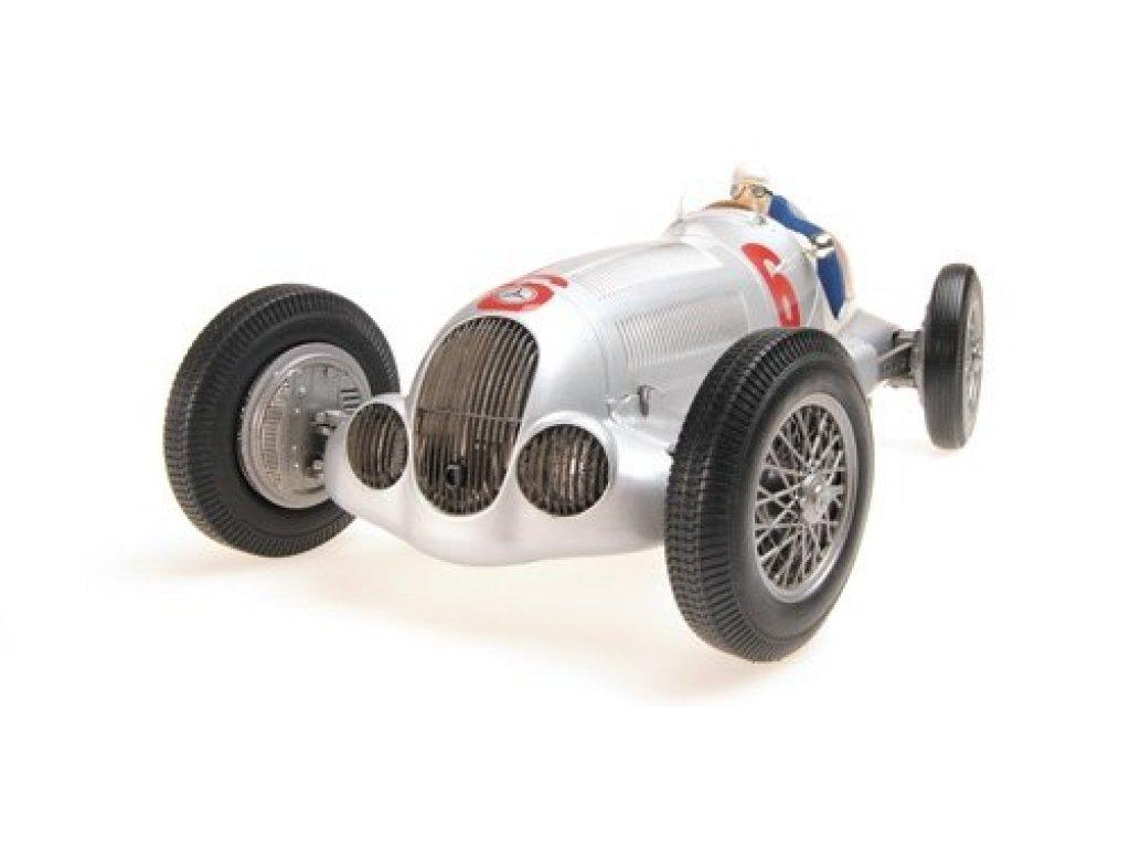 1:18 Minichamps Mercedes W125, Rudolf Caraciola - 2nd place Eifilrennen Nuerburgring, 1937
