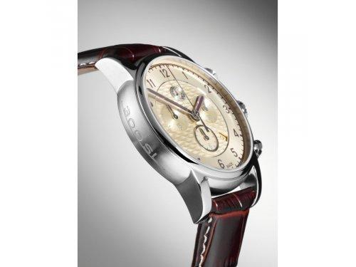 Mercedes Accessories Cменный кожаный ремешок для мужских часов темно-коричневого цвета стандартной длины