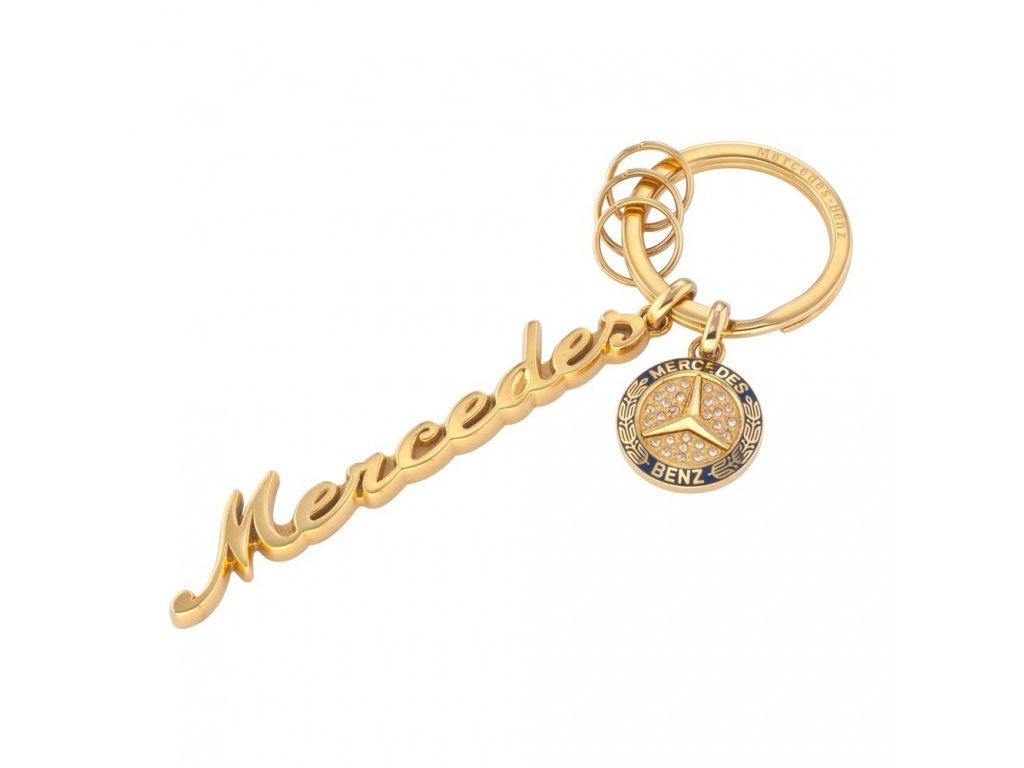 Mercedes Accessories Женский брелок для ключей из нержавеющей стали с кристаллами Swarovski