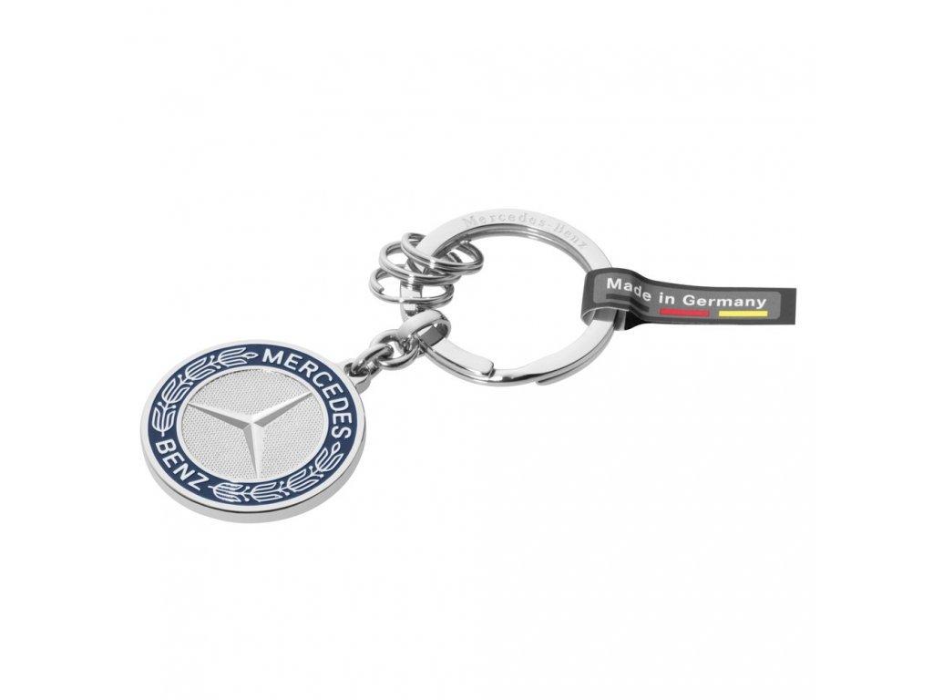 Mercedes Accessories Брелок для ключей из нержавеющей стали с исторической эмблемой Mercedes