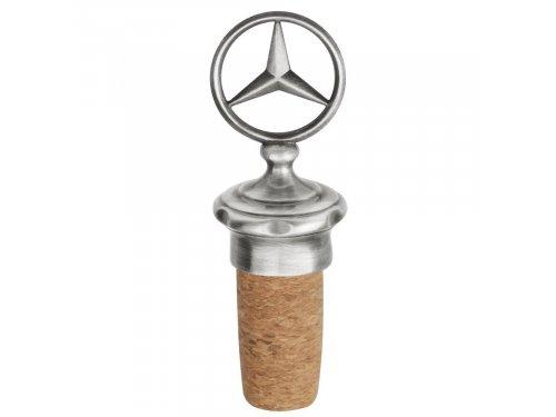 Mercedes Accessories Стоппер для бутылки из нержавеющей стали и пробки с эмблемой Mercedes