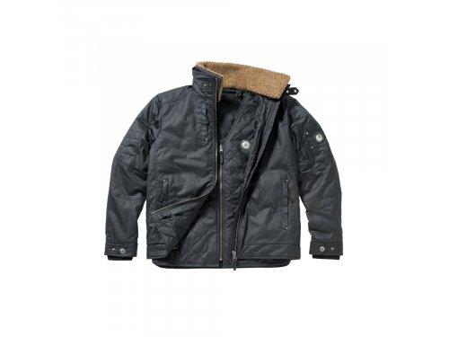 Mercedes Accessories Мужская куртка 2 в 1 черного цвета c нашивками эмблемы Mercedes