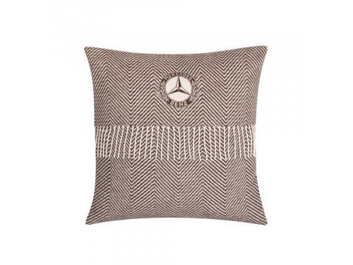 Mercedes Accessories Декоративная подушка с узором и исторической эмблемой Mercedes