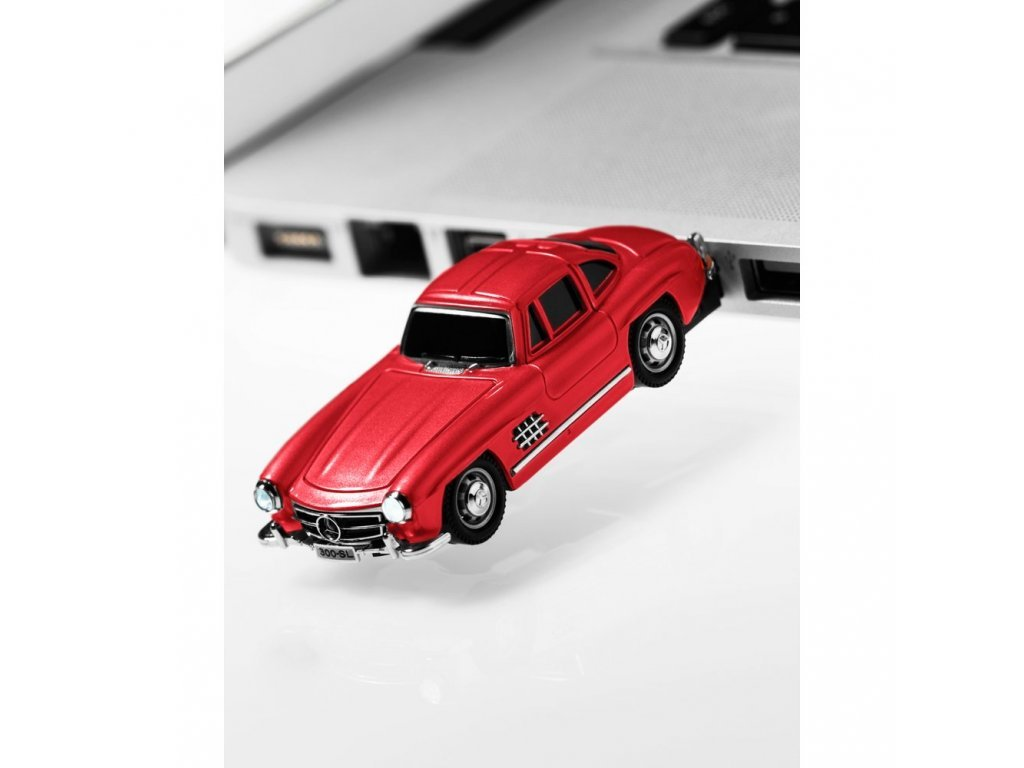 Mercedes Accessories USB-накопитель 16ГБ 2.0 в виде модели автомобиля Mercedes-Benz 300SL Gull Wing