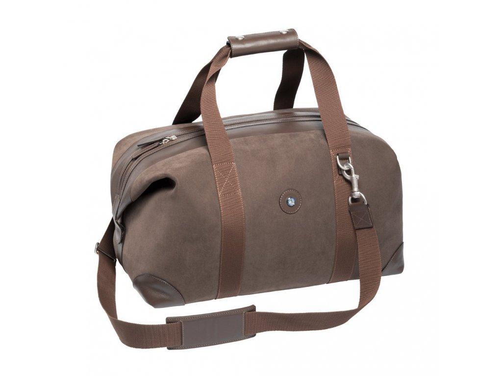 Mercedes Accessories Кожаная дорожная сумка с двумя ручками и плечевым ремнем