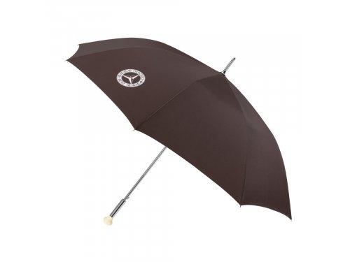 Mercedes Accessories Темно-коричневый зонт с рукояткой, стилизованной под рычаг переключения передач Mercedes 300SL